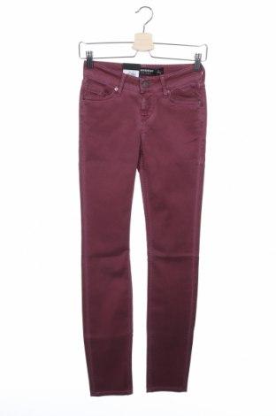 Дамски панталон Sansibar, Размер XS, Цвят Лилав, 97% памук, 3% еластан, Цена 34,02лв.