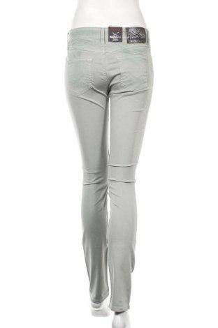Дамски панталон Sansibar, Размер XS, Цвят Зелен, 97% памук, 3% еластан, Цена 37,80лв.