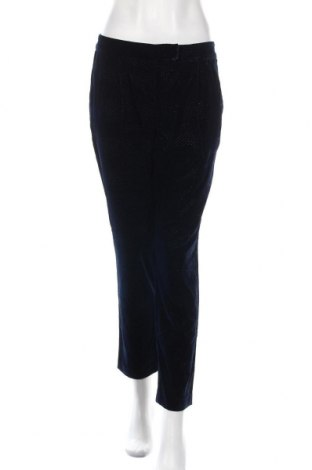 Дамски панталон Stefanel, Размер M, Цвят Син, Полиестер, Цена 18,65лв.
