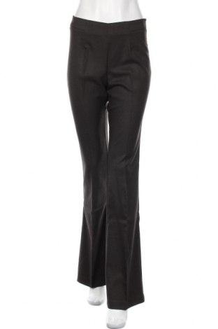Дамски панталон Stefanel, Размер M, Цвят Кафяв, 69% полиестер, 29% вискоза, 2% еластан, Цена 23,34лв.