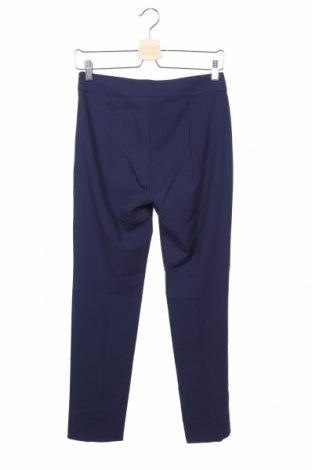 Дамски панталон Stefanel, Размер XS, Цвят Син, 62% полиестер, 33% вискоза, 5% еластан, Цена 18,68лв.