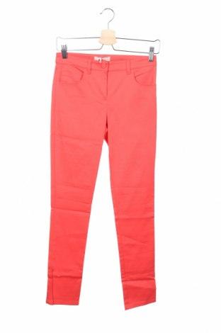 Дамски панталон Stefanel, Размер XXS, Цвят Червен, 56% памук, 39% модал, 5% еластан, Цена 29,90лв.