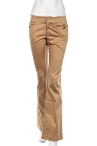 Γυναικείο παντελόνι Stefanel, Μέγεθος S, Χρώμα  Μπέζ, 97% βαμβάκι, 3% ελαστάνη, Τιμή 11,26€