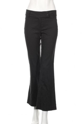 Дамски панталон Suzy Shier, Размер S, Цвят Черен, 69% полиестер, 28% вискоза, 3% еластан, Цена 7,56лв.