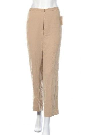 Γυναικείο παντελόνι Tahari, Μέγεθος S, Χρώμα  Μπέζ, 100% πολυεστέρας, Τιμή 17,00€