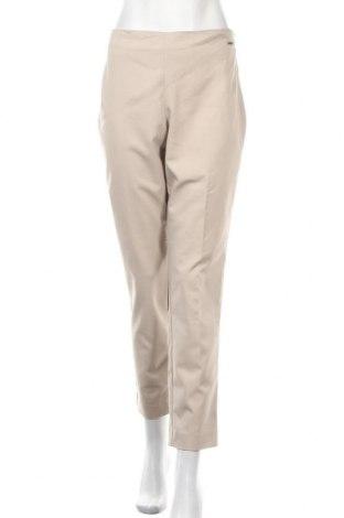 Γυναικείο παντελόνι Tahari, Μέγεθος L, Χρώμα  Μπέζ, 61% βαμβάκι, 35% πολυεστέρας, 3% ελαστάνη, Τιμή 27,02€