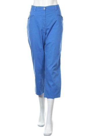 Γυναικείο παντελόνι Ulla Popken, Μέγεθος XL, Χρώμα Μπλέ, 97% βαμβάκι, 3% ελαστάνη, Τιμή 12,28€