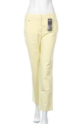 Γυναικείο παντελόνι Zerres, Μέγεθος M, Χρώμα Κίτρινο, 98% βαμβάκι, 2% ελαστάνη, Τιμή 13,92€