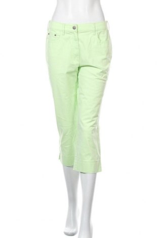 Γυναικείο παντελόνι Zerres, Μέγεθος M, Χρώμα Πράσινο, 97% βαμβάκι, 3% ελαστάνη, Τιμή 14,20€