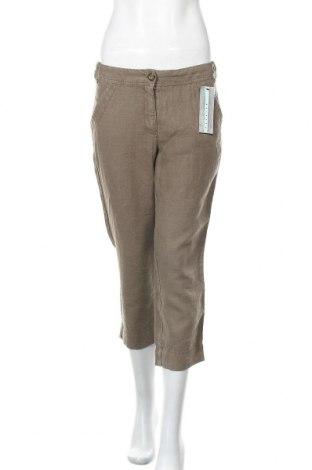 Γυναικείο παντελόνι Zerres, Μέγεθος S, Χρώμα Καφέ, Λινό, Τιμή 20,90€