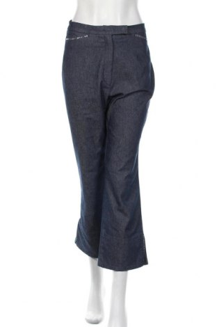 Γυναικείο παντελόνι Zerres, Μέγεθος L, Χρώμα Μπλέ, 62% βαμβάκι, 36% πολυεστέρας, 2% ελαστάνη, Τιμή 7,02€