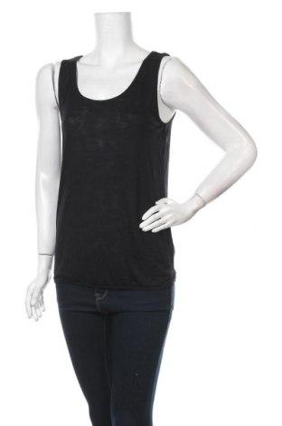 Γυναικείο αμάνικο μπλουζάκι Beach Time, Μέγεθος S, Χρώμα Μαύρο, 100% βισκόζη, Τιμή 5,43€