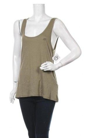 Γυναικείο αμάνικο μπλουζάκι Billabong, Μέγεθος L, Χρώμα Πράσινο, 50% βαμβάκι, 50% μοντάλ, Τιμή 6,43€