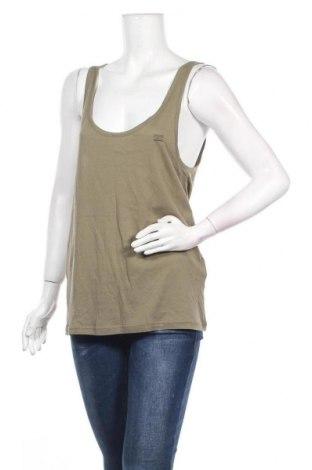 Γυναικείο αμάνικο μπλουζάκι Billabong, Μέγεθος M, Χρώμα Πράσινο, 50% βαμβάκι, 50% μοντάλ, Τιμή 8,62€
