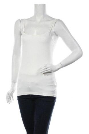 Γυναικείο αμάνικο μπλουζάκι Christian Berg, Μέγεθος XS, Χρώμα Εκρού, 95% πολυαμίδη, 5% ελαστάνη, Τιμή 7,22€