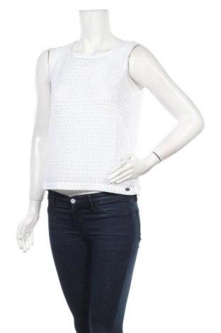 Γυναικείο αμάνικο μπλουζάκι DDP, Μέγεθος S, Χρώμα Λευκό, Βαμβάκι, Τιμή 6,99€