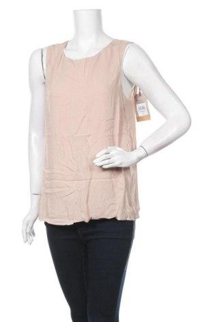 Γυναικείο αμάνικο μπλουζάκι DDP, Μέγεθος XL, Χρώμα Σάπιο μήλο, Βισκόζη, Τιμή 6,64€