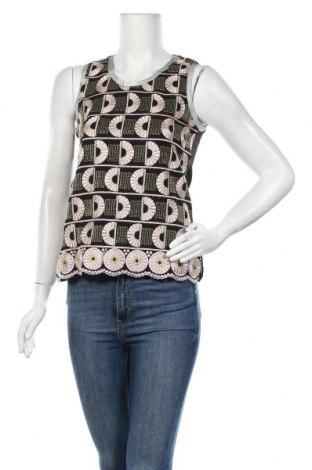 Γυναικείο αμάνικο μπλουζάκι DDP, Μέγεθος XS, Χρώμα Πολύχρωμο, 100% πολυεστέρας, Τιμή 14,60€