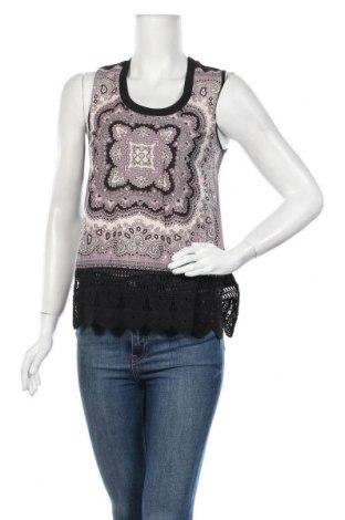 Γυναικείο αμάνικο μπλουζάκι DDP, Μέγεθος XS, Χρώμα Πολύχρωμο, 100% πολυεστέρας, Τιμή 6,99€