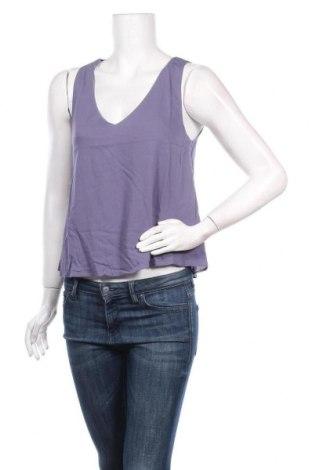 Γυναικείο αμάνικο μπλουζάκι DDP, Μέγεθος M, Χρώμα Βιολετί, Βισκόζη, Τιμή 12,12€