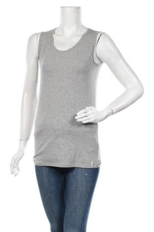 Γυναικείο αμάνικο μπλουζάκι Energetics, Μέγεθος M, Χρώμα Γκρί, 95% βαμβάκι, 5% ελαστάνη, Τιμή 5,78€