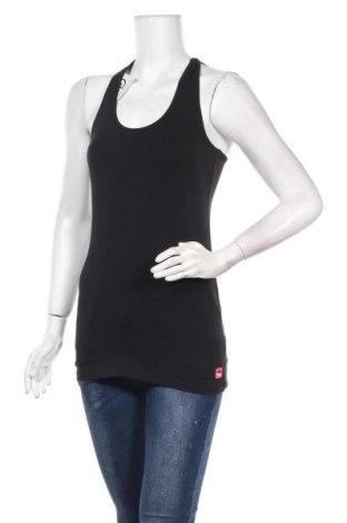 Γυναικείο αμάνικο μπλουζάκι Frieda & Freddies, Μέγεθος S, Χρώμα Μαύρο, 95% βαμβάκι, 5% ελαστάνη, Τιμή 20,33€
