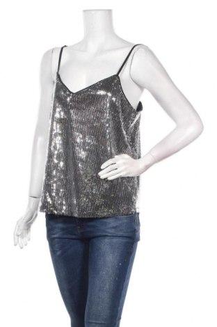 Γυναικείο αμάνικο μπλουζάκι Jdy, Μέγεθος M, Χρώμα Γκρί, 100% πολυεστέρας, Τιμή 7,09€