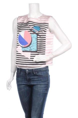 Γυναικείο αμάνικο μπλουζάκι La Mode Est A Vous, Μέγεθος L, Χρώμα Πολύχρωμο, 90% πολυεστέρας, 10% ελαστάνη, Τιμή 7,54€