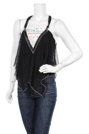 Γυναικείο αμάνικο μπλουζάκι La Mode Est A Vous, Μέγεθος M, Χρώμα Μαύρο, Πολυεστέρας, Τιμή 6,43€