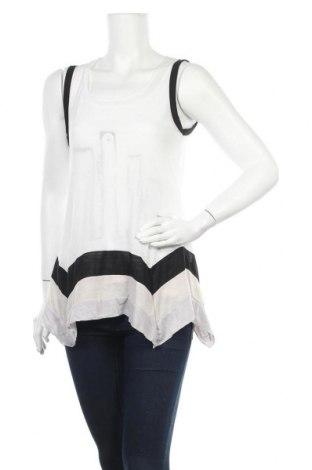 Γυναικείο αμάνικο μπλουζάκι La Mode Est A Vous, Μέγεθος S, Χρώμα Λευκό, Πολυεστέρας, Τιμή 6,43€