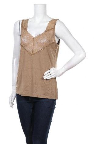 Γυναικείο αμάνικο μπλουζάκι Lauren Vidal, Μέγεθος XXL, Χρώμα Πράσινο, 80% βισκόζη, 15% μαλλί, 5% ελαστάνη, Τιμή 7,83€