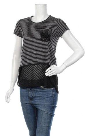 Γυναικεία μπλούζα Le Temps Des Cerises, Μέγεθος XS, Χρώμα Γκρί, 75% πολυεστέρας, 25% βαμβάκι, Τιμή 7,07€