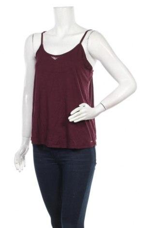 Γυναικείο αμάνικο μπλουζάκι Lee Cooper, Μέγεθος S, Χρώμα Βιολετί, 95% μοντάλ, 5% ελαστάνη, Τιμή 5,76€