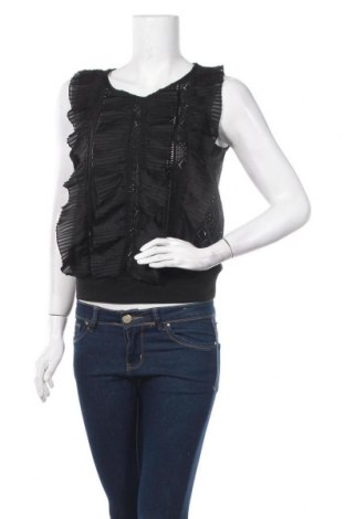 Γυναικείο αμάνικο μπλουζάκι Molly Bracken, Μέγεθος S, Χρώμα Μαύρο, 96% πολυεστέρας, 4% ελαστάνη, Τιμή 10,83€