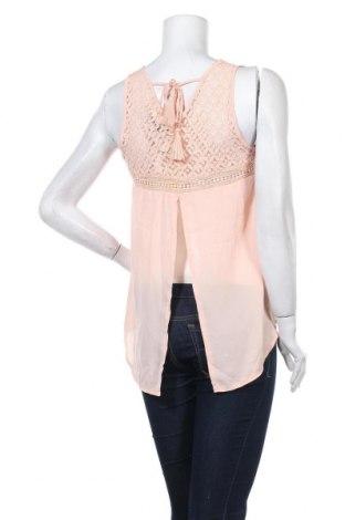 Γυναικείο αμάνικο μπλουζάκι Molly Bracken, Μέγεθος S, Χρώμα Ρόζ , Πολυεστέρας, Τιμή 14,43€