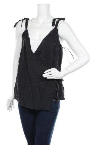 Γυναικείο αμάνικο μπλουζάκι On.You, Μέγεθος XL, Χρώμα Μαύρο, Χαλκαμμωνία, Τιμή 7,07€