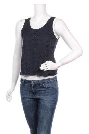 Γυναικείο αμάνικο μπλουζάκι On.You, Μέγεθος S, Χρώμα Μπλέ, Πολυεστέρας, Τιμή 7,07€
