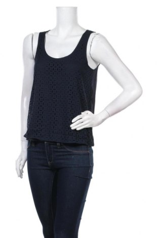 Γυναικείο αμάνικο μπλουζάκι On.You, Μέγεθος M, Χρώμα Μπλέ, Πολυεστέρας, Τιμή 10,67€