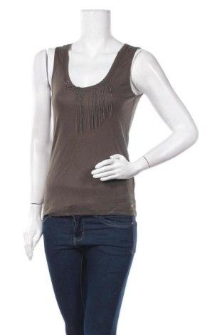 Γυναικείο αμάνικο μπλουζάκι On.You, Μέγεθος S, Χρώμα Πράσινο, Βισκόζη, Τιμή 12,12€