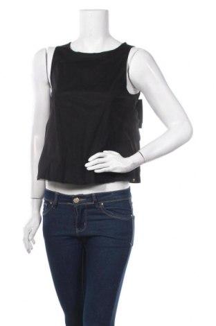 Γυναικείο αμάνικο μπλουζάκι On.You, Μέγεθος S, Χρώμα Μαύρο, Πολυεστέρας, Τιμή 11,37€