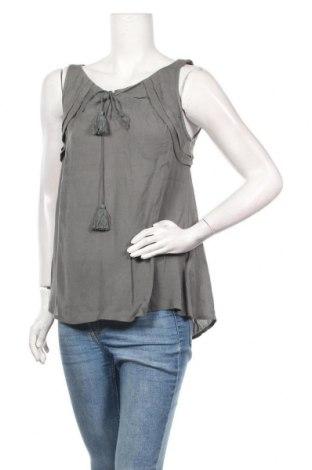 Γυναικείο αμάνικο μπλουζάκι Review, Μέγεθος XS, Χρώμα Πράσινο, Βισκόζη, Τιμή 7,22€