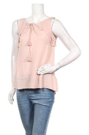 Γυναικείο αμάνικο μπλουζάκι Review, Μέγεθος XS, Χρώμα Ρόζ , Βισκόζη, Τιμή 7,22€