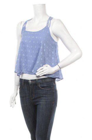 Γυναικείο αμάνικο μπλουζάκι Review, Μέγεθος XS, Χρώμα Μπλέ, Πολυεστέρας, Τιμή 6,96€
