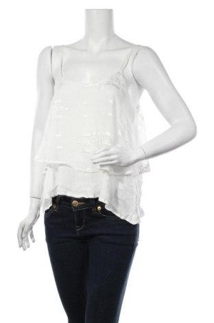 Γυναικείο αμάνικο μπλουζάκι Review, Μέγεθος M, Χρώμα Λευκό, 100% πολυεστέρας, Τιμή 8,25€