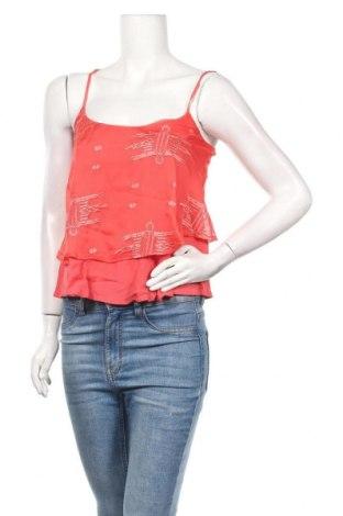Γυναικείο αμάνικο μπλουζάκι Review, Μέγεθος S, Χρώμα Κόκκινο, 100% πολυεστέρας, Τιμή 8,25€