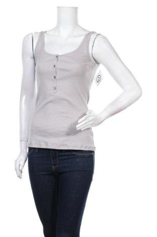 Γυναικείο αμάνικο μπλουζάκι Schiesser, Μέγεθος L, Χρώμα Γκρί, 95% βαμβάκι, 5% ελαστάνη, Τιμή 7,25€
