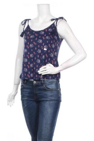 Γυναικείο αμάνικο μπλουζάκι Springfield, Μέγεθος S, Χρώμα Μπλέ, Βισκόζη, Τιμή 4,76€