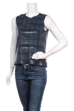 Γυναικείο αμάνικο μπλουζάκι Stefanel, Μέγεθος S, Χρώμα Μπλέ, Πολυαμίδη, Τιμή 13,44€