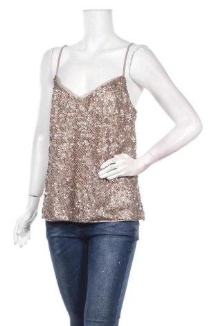 Γυναικείο αμάνικο μπλουζάκι Vera Mont, Μέγεθος M, Χρώμα Καφέ, 100% πολυεστέρας, Τιμή 36,80€