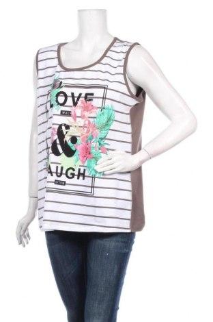 Γυναικείο αμάνικο μπλουζάκι Via Appia, Μέγεθος XL, Χρώμα Πολύχρωμο, 92% βαμβάκι, 8% ελαστάνη, Τιμή 18,95€